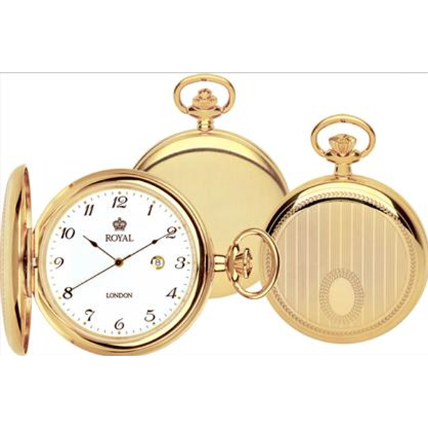 90000‐02 Royal London Lommeur, guld