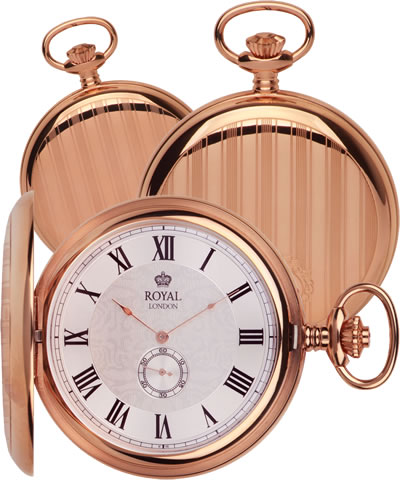 90012-01 Royal London Lommeur i Rosegold