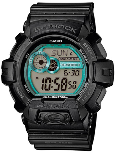 CASIO G-SHOCK SORT / TURKIES GLS-8900-1ER