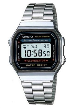CASIO A168WA-1QGF Retro