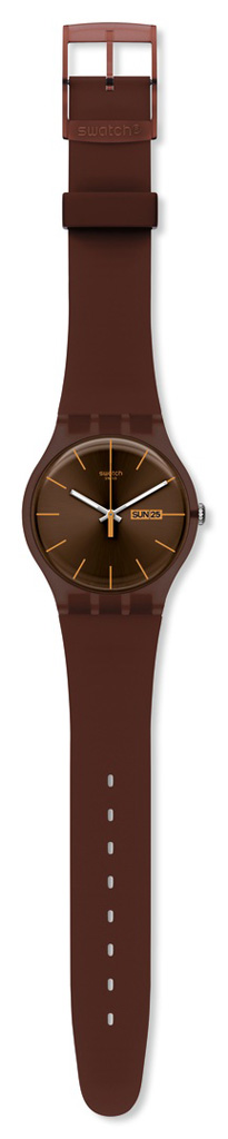 SWATCH SUOC703 UNISEX CACAO REBEL