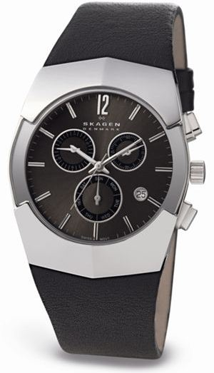 SKAGEN 581XLSLM HERREUR, BLACK LABEL