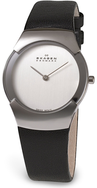 SKAGEN 582SSLC DAMEUR, BLACK LABEL