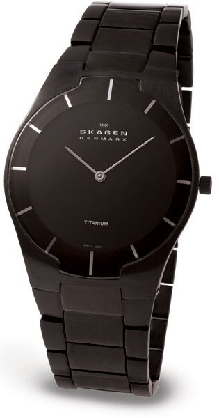 SKAGEN 585XLTMXB HERREUR, BLACK LABEL