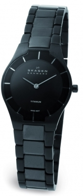 SKAGEN 585XSTMXB DAMEUR, BLACK LABEL