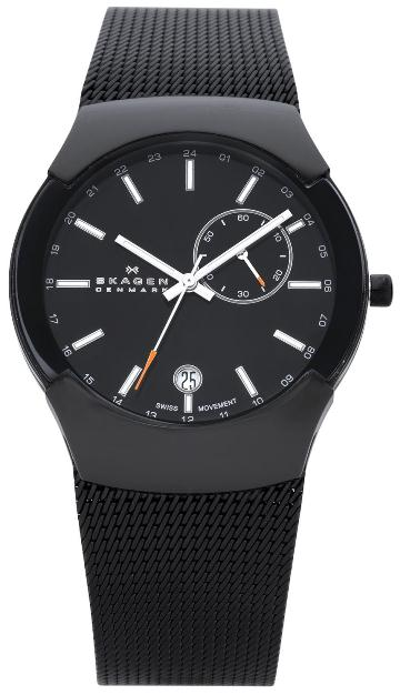 SKAGEN 983XLBB HERREUR, BLACK LABEL