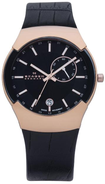 SKAGEN 983XLRLDB HERREUR, BLACK LABEL
