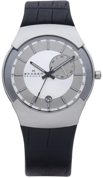 SKAGEN 983XLSLBC HERREUR, BLACK LABEL