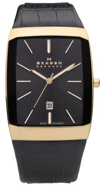 SKAGEN 984LRLB HERREUR, BLACK LABEL