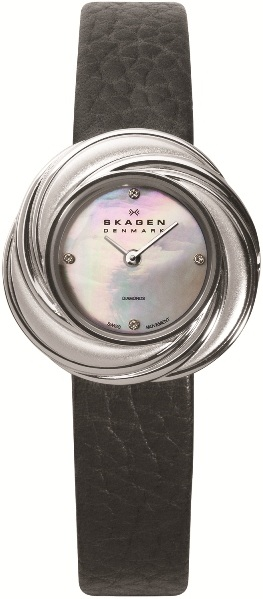 SKAGEN 885SSLB DAMEUR, BLACK LABEL