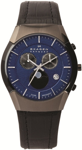 SKAGEN 901XLMLN HERREUR, BLACK LABEL