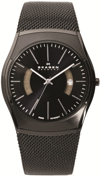 SKAGEN 902XLSBB HERREUR, BLACK LABEL