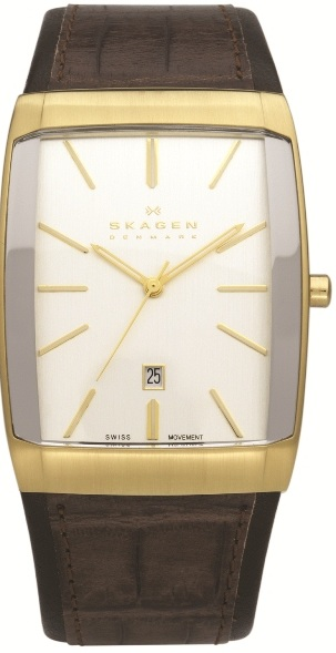 SKAGEN 984LGLD HERREUR, BLACK LABEL