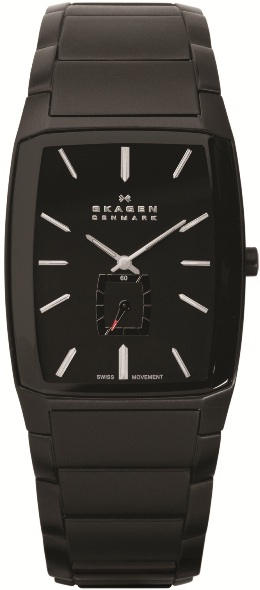 SKAGEN 984XLBXB HERREUR, BLACK LABEL