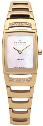 SKAGEN 985SGXG DAMEUR, BLACK LABEL