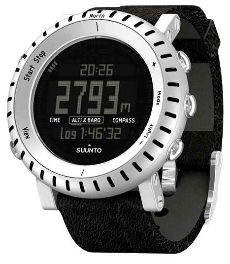 SUUNTO 142800 CORE ALU BLACK