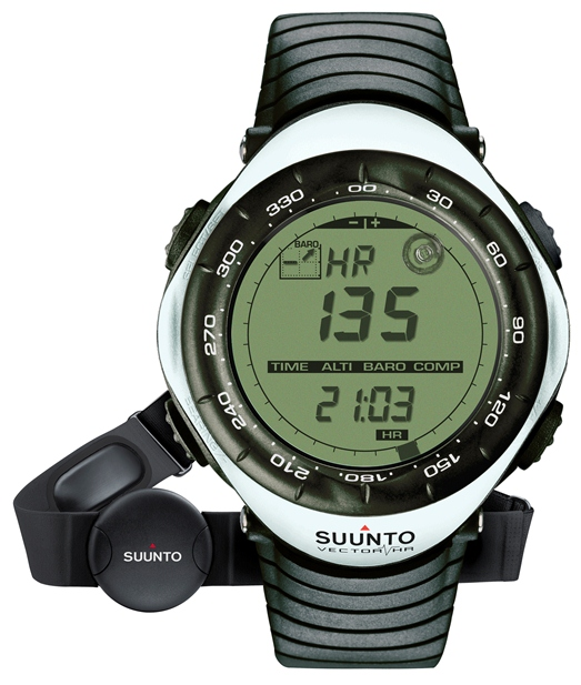 SUUNTO 153000 VECTOR HR WHITE