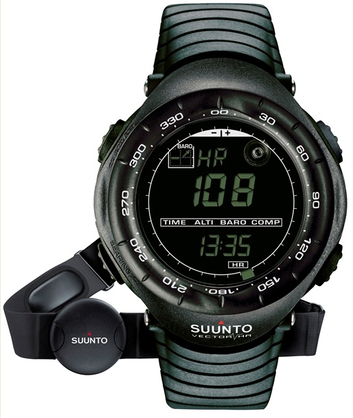 SUUNTO 153010 VECTOR HR BLACK