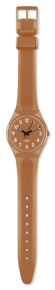 SWATCH GC109 DAMEUR FLAKY BROWN