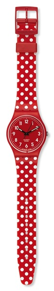 SWATCH GR154K DAMEUR CHERRY-BERRY DOTS