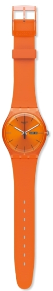 SWATCH SUOO700 UNISEX PUMPKIN REBEL