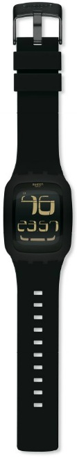 SWATCH SURB100 TOUCH BLACK ALARM