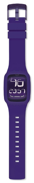 SWATCH SURV100 TOUCH PURPLE ALARM
