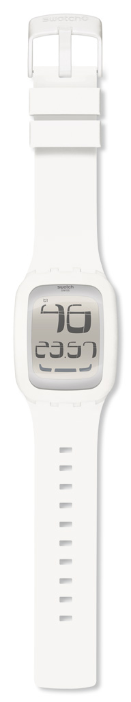 SWATCH SURW100 TOUCH WHITE ALARM