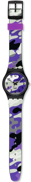 SWATCH GB264 UNISEX HIDING PURPLE