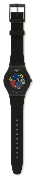 SWATCH SUOB101 BLACK LACQUERED