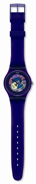 SWATCH SUOV100 PURPLE LACQUERED