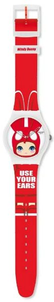 SWATCH SUOZ114 UNISEX USE YOUR EARS