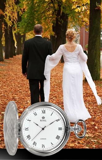 Lækkert klassisk lommeur til bryllup eller fest - se vores store udvalg her