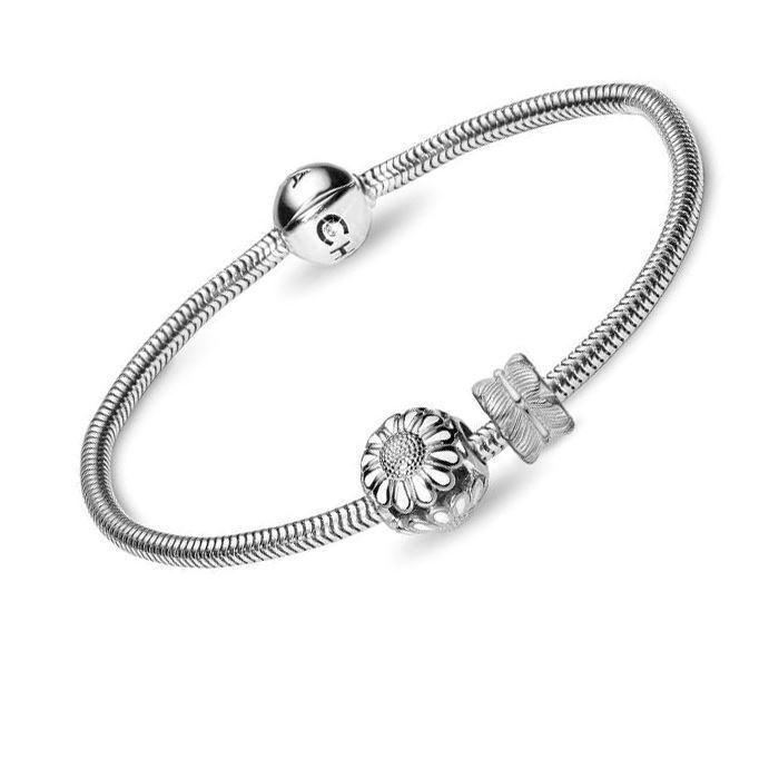 8fe9cc099ac 615-S Christina Collect sølv Armbånd Sølv til de populære charms ...
