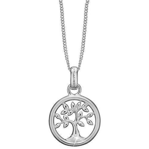 d2914e534e9 Køb dine Rundt vedhæng med Livets Træ og Lab diamant fra Christina smykker  hos Ur-
