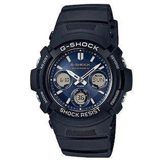 sort resin med stål G-Shock quartz multifunktion (5230) Herre ur fra Casio