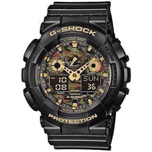 sort resin med stål G-Shock quartz multifunktion (5081) Herre ur fra Casio