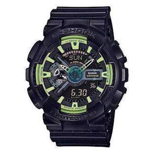 sort resin med stål G-Shock quartz multifunktion (5146) Herre ur fra Casio