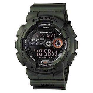 army resin med stål G-Shock quartz multifunktion (3263) Herre ur fra Casio