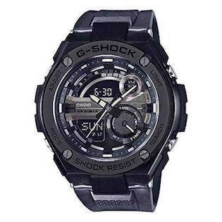 IP sort rustfri stål G-Shock quartz multifunktion (5475) Herre ur fra Casio