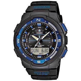 sort resin med stål Collection / Pro-Trek quartz multifunktion (5269) Herre ur fra Casio