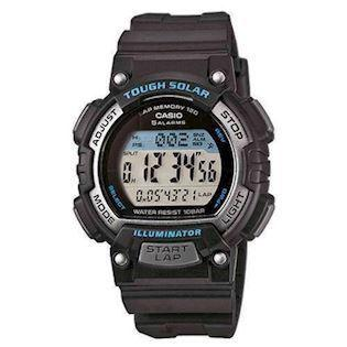 sort / blå med stål Basic quartz multifunktion (3440) Herre / ungdom ur fra Casio
