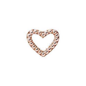 Christina Collect Heart Dots rosa charm