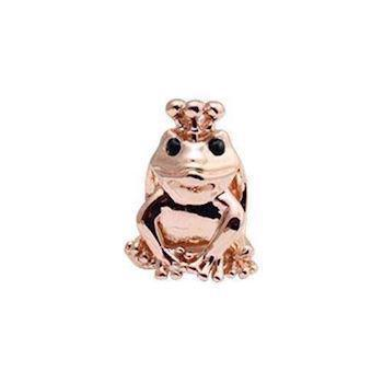 Christina Collect Topaz Frog rosa charm