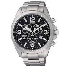 AT0660-64E Citizen Titanium Chronograph herreur med Eco-Drive