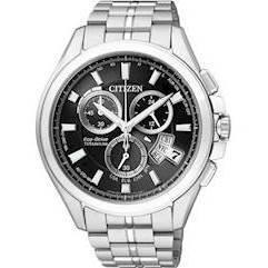 BY0051-55E, Citizen Radiostyret Titanium Herreur med Eco-Drive