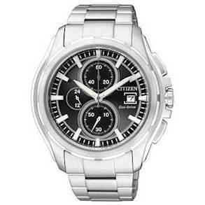 CA0270-59F Citizen Sporty herreur <br> Chronograph og Eco-Drive