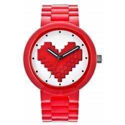 Lego Watch System rødt dame ur med hjerte - Be Mine