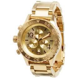 Nixon Chrono all Gold herre ur, 42-20