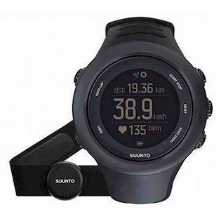 Sort Ambit3 quartz multifunktion Unisex ur fra Suunto